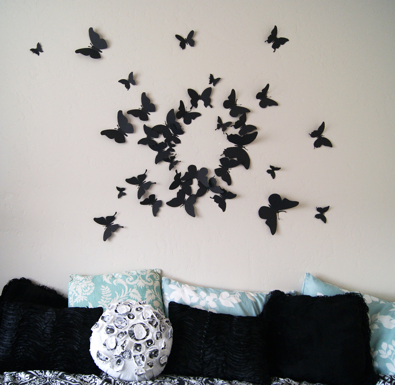 Butterfly Wall Art levo ontapados matricanak