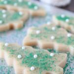 Karácsonyfa zöld cukorral... varázslatos hatást kelt.