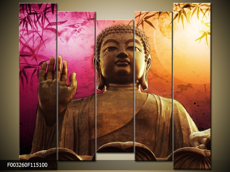 Belső békét teremt otthonodba ez a Buddha kép.