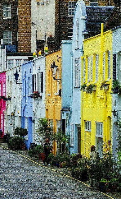 Az angol sorházak kreatív változata - Paddington, London