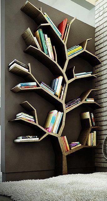 A tudás fája maga ez a könyvpolc!